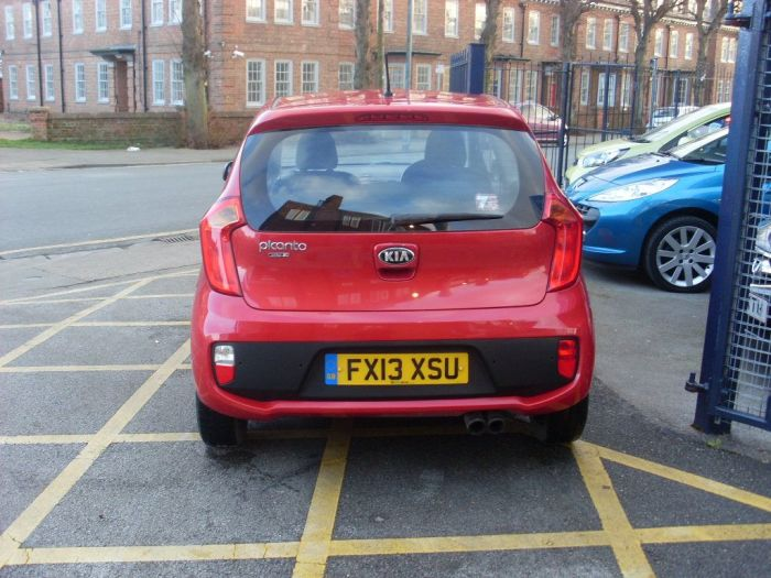 Kia Picanto 1.0 City 3dr Hatchback Petrol Ruby Red