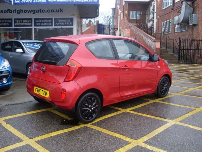 Kia Picanto 1.0 1 3dr Hatchback Petrol Ruby Red