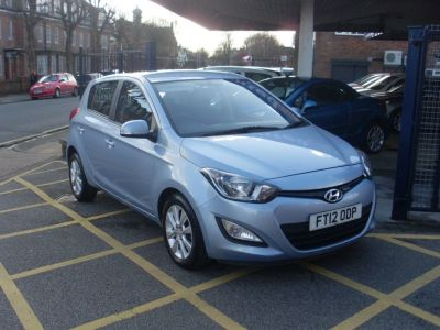 Hyundai i20 1.2 Active 5dr Hatchback Petrol Ice BlueHyundai i20 1.2 Active 5dr Hatchback Petrol Ice Blue at Motors of Brighowgate Grimsby