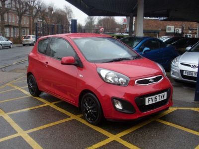 Kia Picanto 1.0 1 3dr Hatchback Petrol Ruby RedKia Picanto 1.0 1 3dr Hatchback Petrol Ruby Red at Motors of Brighowgate Grimsby