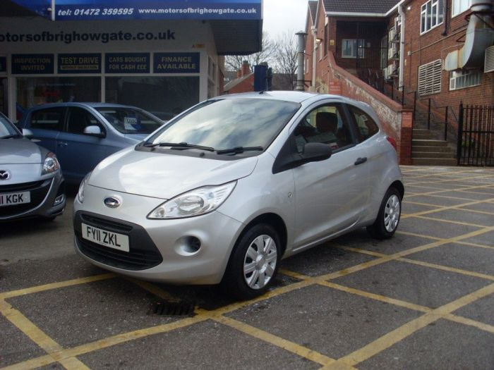 Ford Ka 1.2 Studio 3dr [Start Stop] Hatchback Petrol Silver