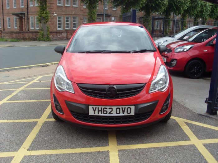 Vauxhall Corsa 1.2 Active 3dr Hatchback Petrol Red