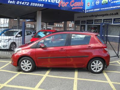Toyota Yaris 1.33 VVT-i T Spirit 5dr Multidrive S Hatchback Petrol Red MetToyota Yaris 1.33 VVT-i T Spirit 5dr Multidrive S Hatchback Petrol Red Met at Motors of Brighowgate Grimsby