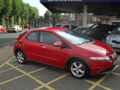 Honda Civic 1.4 i-VTEC SE 5dr Hatchback Petrol RedHonda Civic 1.4 i-VTEC SE 5dr Hatchback Petrol Red at Motors of Brighowgate Grimsby