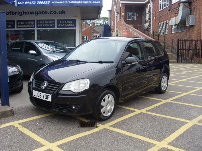 Volkswagen Polo 1.2 S 5 door Hatchback Petrol Black