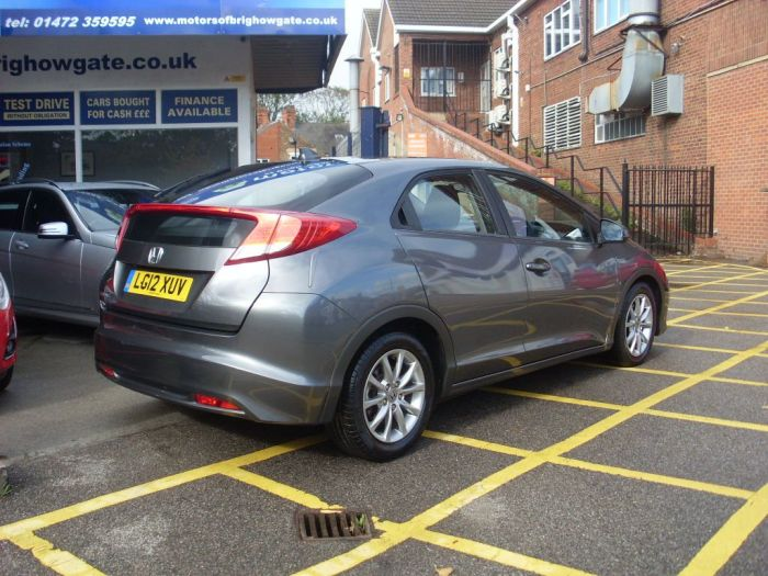 Honda Civic 2.2 i-DTEC ES 5dr Hatchback Diesel Grey