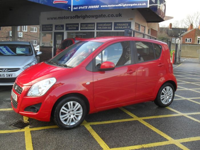 Suzuki Splash 1.2 SZ4 5dr Hatchback Petrol Red