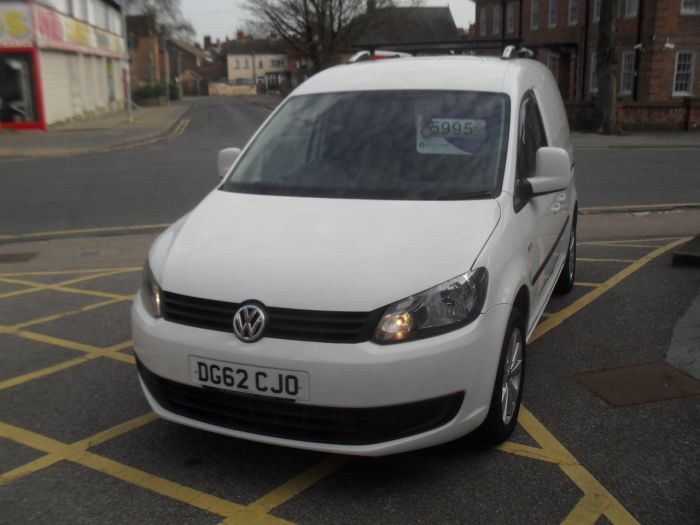 Volkswagen Caddy Van 1.6 TDI BlueMotion Tech 102PS Van Commercial Diesel White
