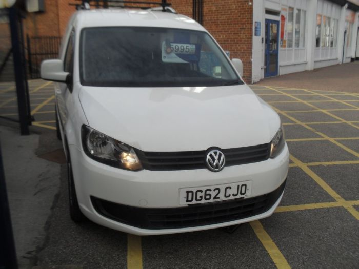 Volkswagen Caddy 1.6 TDI BlueMotion Tech 102PS Van Panel Van Diesel White