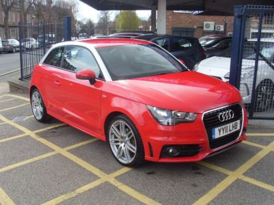 Audi A1 1.4 TFSI S Line 3dr Hatchback Petrol Pearl RedAudi A1 1.4 TFSI S Line 3dr Hatchback Petrol Pearl Red at Motors of Brighowgate Grimsby