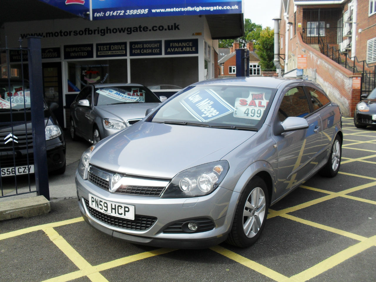 Vauxhall Astra 1.4i 16V SXi 3dr Hatchback Petrol Silver Grey Met at Motors of Brighowgate Grimsby
