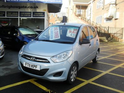 Hyundai i10 1.2 Classic 5dr Hatchback Petrol Silver/blueHyundai i10 1.2 Classic 5dr Hatchback Petrol Silver/blue at Motors of Brighowgate Grimsby