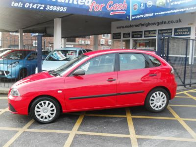 Seat Ibiza 1.2 Reference 5dr Hatchback Petrol RedSeat Ibiza 1.2 Reference 5dr Hatchback Petrol Red at Motors of Brighowgate Grimsby