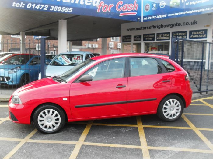 Seat Ibiza 1.2 Reference 5dr Hatchback Petrol Red