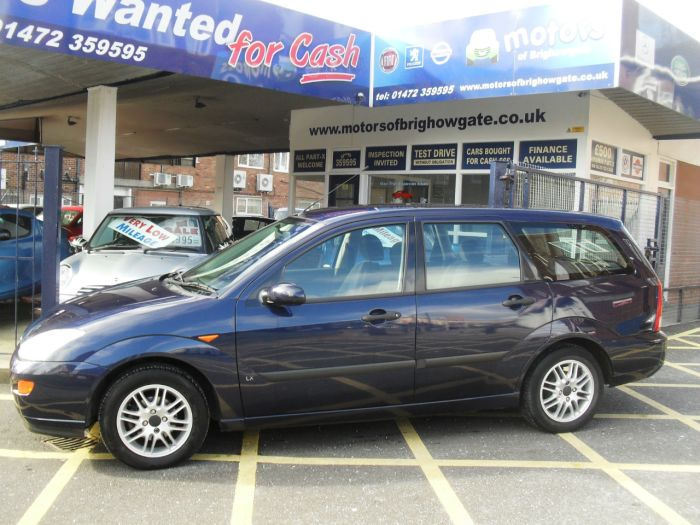 Ford Focus 1.8 LX 5dr Estate Petrol Blue Met