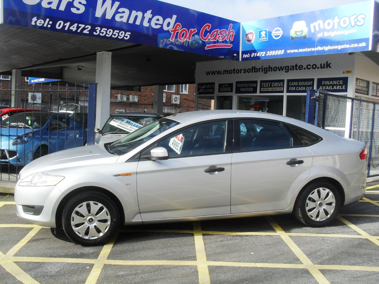 Ford Mondeo 2.0 TDCi Edge 5dr Hatchback Diesel Silver at Motors of Brighowgate Grimsby