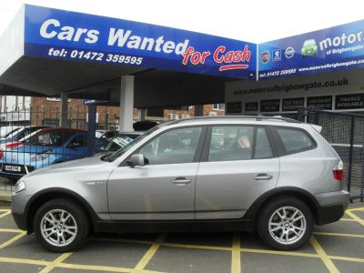 BMW X3 2.0d SE 5dr [177] Estate Diesel Grey MetBMW X3 2.0d SE 5dr [177] Estate Diesel Grey Met at Motors of Brighowgate Grimsby