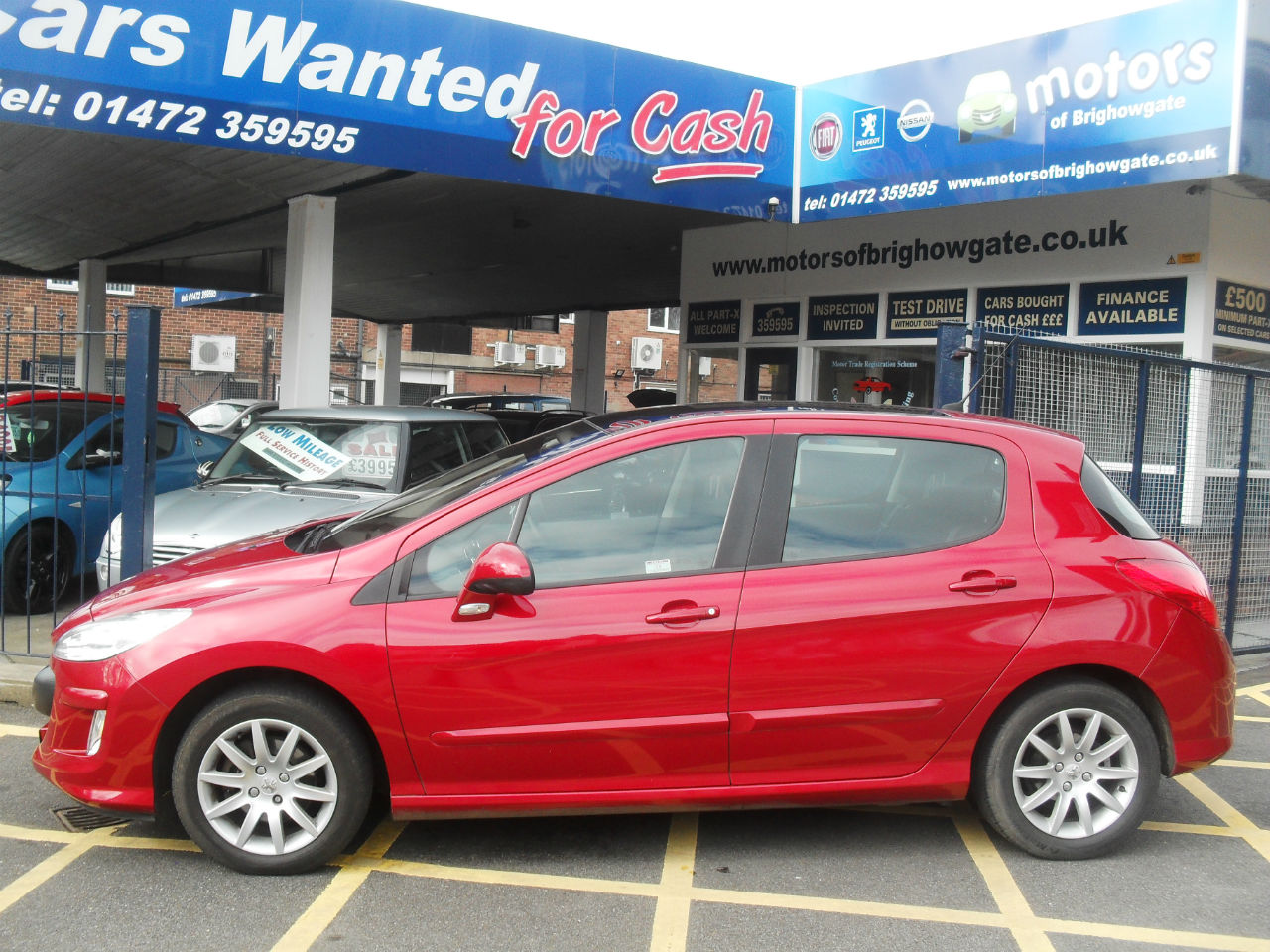 Peugeot 308 1.6 THP SE 5dr Auto Hatchback Petrol Red at Motors of Brighowgate Grimsby