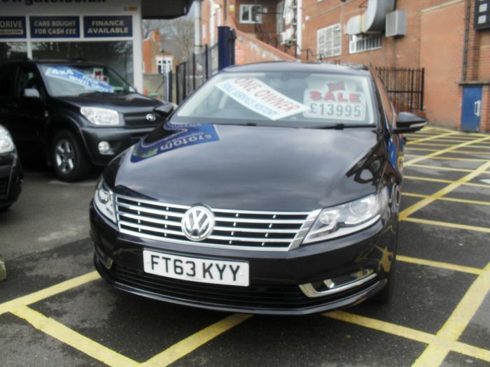 Volkswagen Cc 2.0 TDI BlueMotion Tech GT 4dr Coupe Diesel Black Met