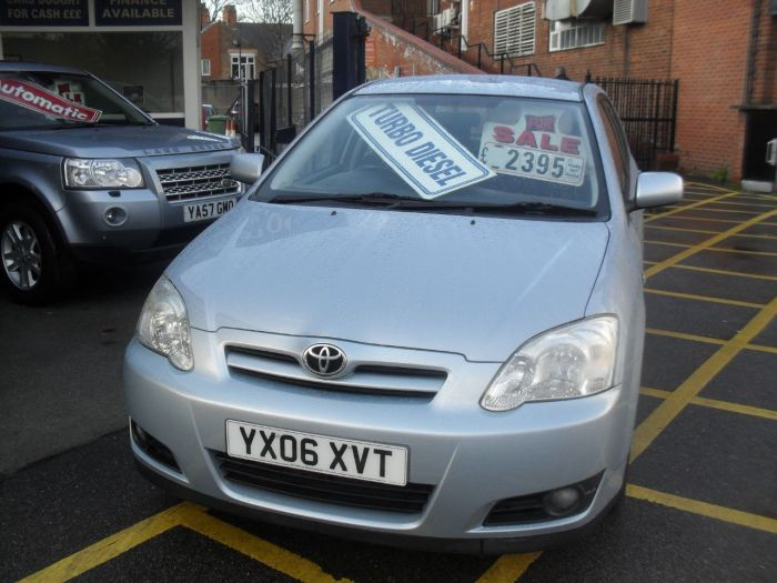 Toyota Corolla 1.4 D-4D Colour Collection 5dr Hatchback Diesel Blue Met