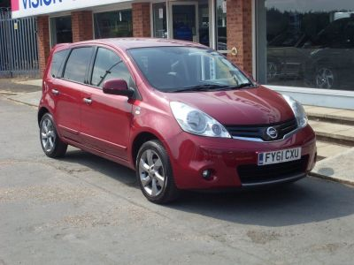 Nissan Note 1.4 N-Tec (SAT NAV) 5dr MPV Petrol Metallic RedNissan Note 1.4 N-Tec (SAT NAV) 5dr MPV Petrol Metallic Red at Motors of Brighowgate Grimsby
