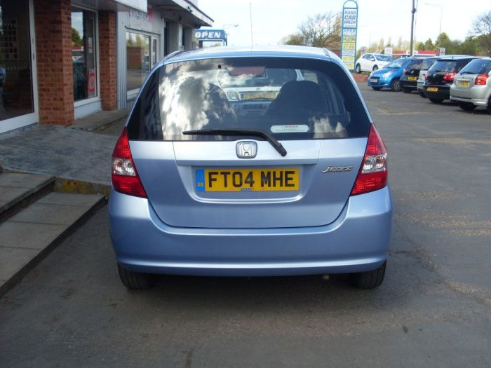 Honda Jazz 1.4i-DSI SE 5dr Hatchback Petrol Ice Blue Metallic