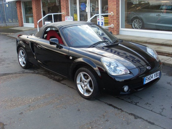 Toyota MR2 1.8 VVTi 2dr Convertible Petrol Black