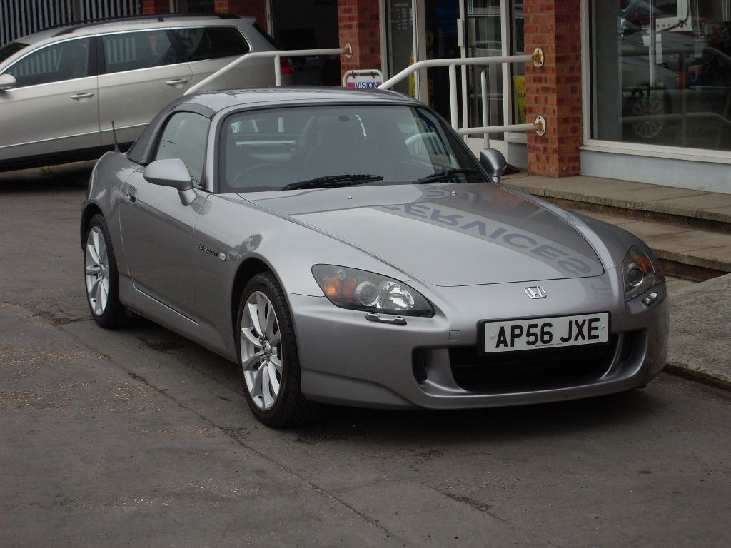Honda S2000 2.0i GT 2dr Convertible Petrol Silverstone Metallic at Motors of Brighowgate Grimsby