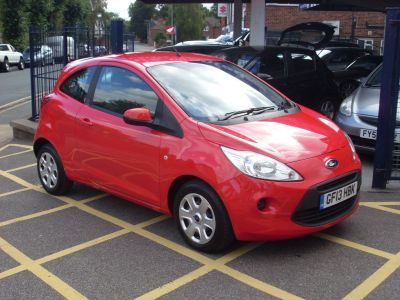 Ford Ka 1.2 Edge 3dr [Start Stop] Hatchback Petrol Bright RedFord Ka 1.2 Edge 3dr [Start Stop] Hatchback Petrol Bright Red at Motors of Brighowgate Grimsby