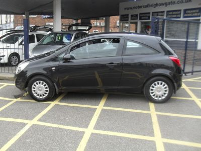 Vauxhall Corsa 1.0 ecoFLEX S 3dr Hatchback Petrol BlackVauxhall Corsa 1.0 ecoFLEX S 3dr Hatchback Petrol Black at Motors of Brighowgate Grimsby