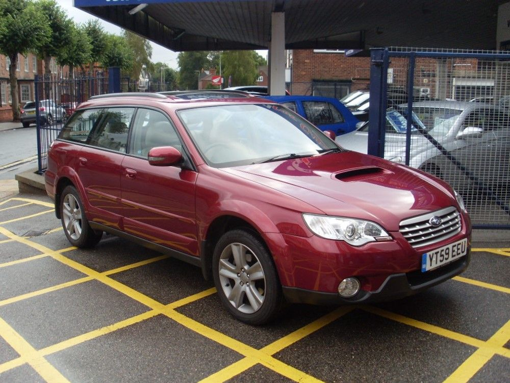 Subaru Outback 2.0D RE Outback 5dr Estate Diesel Merlot Red Pearl at Motors of Brighowgate Grimsby