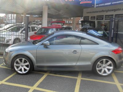 Audi TT 2.0T FSI 2dr Coupe Petrol Grey MetAudi TT 2.0T FSI 2dr Coupe Petrol Grey Met at Motors of Brighowgate Grimsby