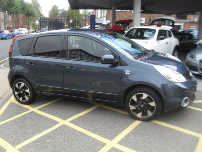 Nissan Note 1.4 N-Tec+ 5dr MPV Petrol Blue MetNissan Note 1.4 N-Tec+ 5dr MPV Petrol Blue Met at Motors of Brighowgate Grimsby