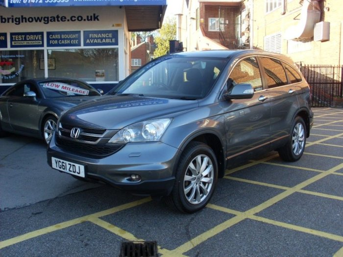 Honda CR-V 2.0 i-VTEC ES Manual Estate Petrol Gunmetal Grey Metallic
