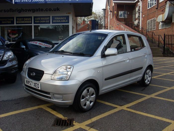 Kia Picanto 1.0 GS 5dr Hatchback Petrol Silver