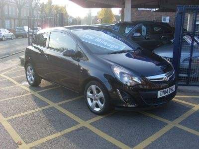 Vauxhall Corsa 1.4 SXi 3dr [AC] Hatchback Petrol BlackVauxhall Corsa 1.4 SXi 3dr [AC] Hatchback Petrol Black at Motors of Brighowgate Grimsby