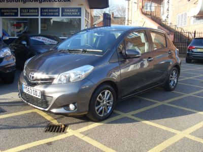 Toyota Yaris 1.33 VVT-i Icon Plus 5dr (SAT NAV) Hatchback Petrol Metallic GreyToyota Yaris 1.33 VVT-i Icon Plus 5dr (SAT NAV) Hatchback Petrol Metallic Grey at Motors of Brighowgate Grimsby