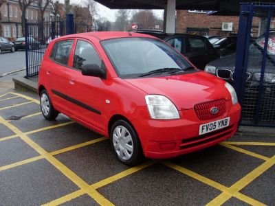 Kia Picanto 1.1 LX 5dr Hatchback Petrol Bright RedKia Picanto 1.1 LX 5dr Hatchback Petrol Bright Red at Motors of Brighowgate Grimsby