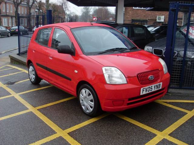 Kia Picanto 1.1 LX 5dr Hatchback Petrol Bright Red