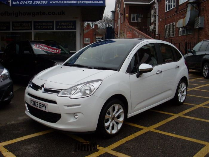 Citroen C3 1.6 e-HDi Airdream Selection 5dr Hatchback Diesel White