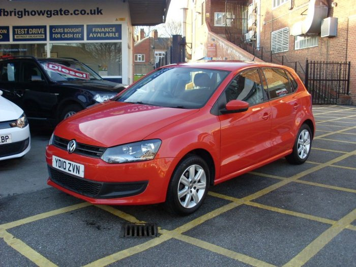 Volkswagen Polo 1.4 SE 5dr Hatchback Petrol Pearlescent Orange