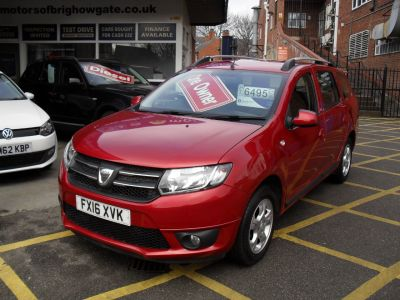 Dacia Logan 1.5 dCi Laureate 5dr Estate Diesel Red MettalicDacia Logan 1.5 dCi Laureate 5dr Estate Diesel Red Mettalic at Motors of Brighowgate Grimsby