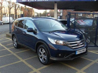 Honda CR-V 1.6 i-DTEC SR (SAT NAV) Estate Diesel Midnight BlueHonda CR-V 1.6 i-DTEC SR (SAT NAV) Estate Diesel Midnight Blue at Motors of Brighowgate Grimsby