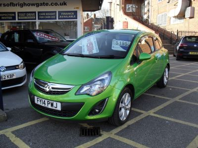 Vauxhall Corsa 1.2 Excite 3dr [AC] Hatchback Petrol GreenVauxhall Corsa 1.2 Excite 3dr [AC] Hatchback Petrol Green at Motors of Brighowgate Grimsby