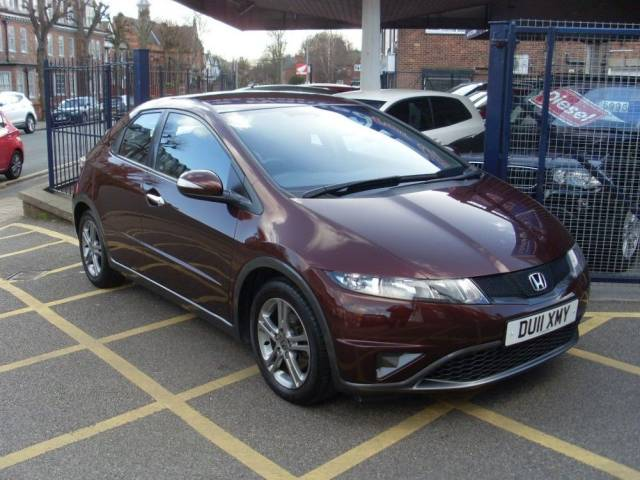 Honda Civic 1.4 i-VTEC SE 5dr Hatchback Petrol Ionized Bronze Metallic