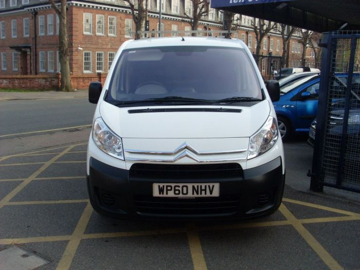 Citroen Dispatch 1000 1.6 HDi 90 H1 Van Panel Van Diesel White