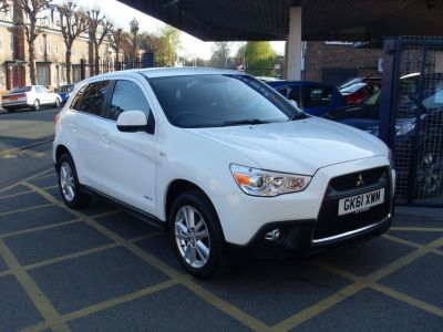 Mitsubishi ASX 1.6i 4 ClearTec 5dr Hatchback Petrol WhiteMitsubishi ASX 1.6i 4 ClearTec 5dr Hatchback Petrol White at Motors of Brighowgate Grimsby