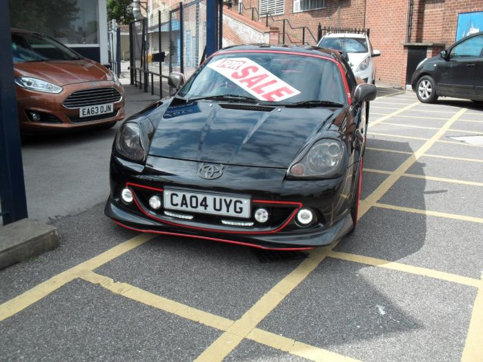 Toyota MR2 1.8 ROADSTER MMT Convertible Petrol Black