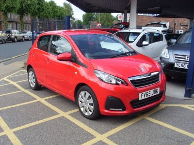 Peugeot 108 1.0 Active 5dr (Air Con) Hatchback Petrol RedPeugeot 108 1.0 Active 5dr (Air Con) Hatchback Petrol Red at Motors of Brighowgate Grimsby
