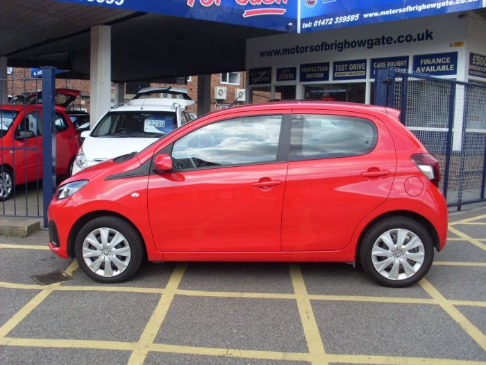 Peugeot 108 1.0 Active 5dr (Air Con) Hatchback Petrol Red